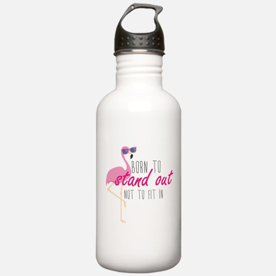 Born To Stand Out Water Bottle