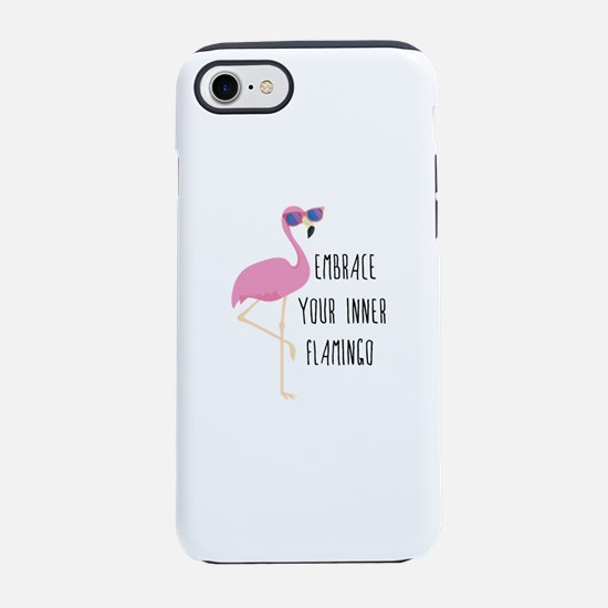 Embrace Your Inner Flamingo iPhone 7 Tough Case