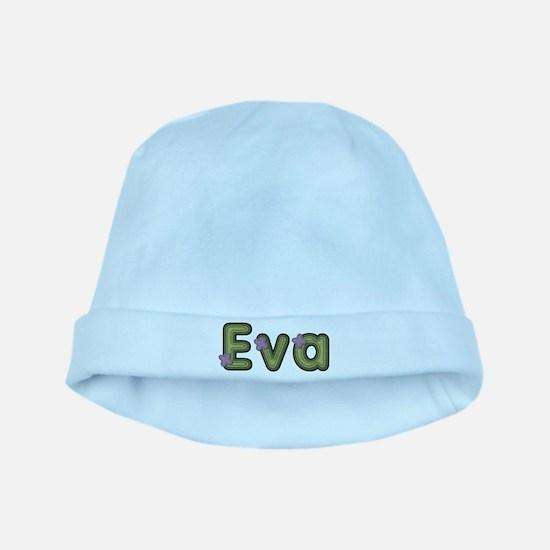Eva Spring Green baby hat