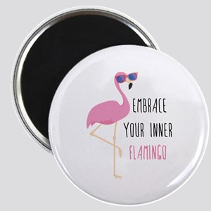 Embrace Your Inner Flamingo Magnet