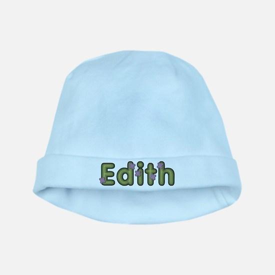 Edith Spring Green baby hat