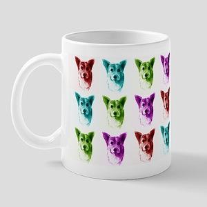 Colorful Corgis Mug