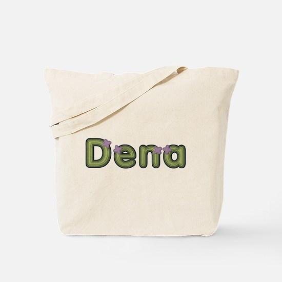 Dena Spring Green Tote Bag