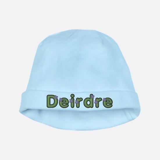Deirdre Spring Green baby hat