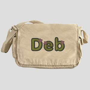 Deb Spring Green Messenger Bag