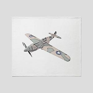 Curtiss P-40 Throw Blanket