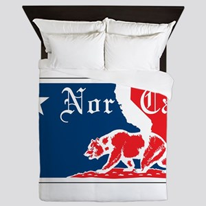 Major League Norcal logo Queen Duvet