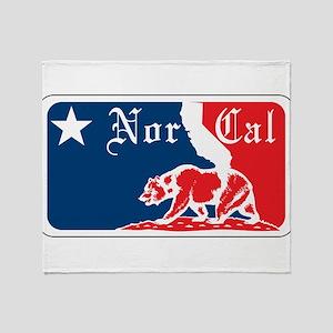Major League Norcal logo Throw Blanket