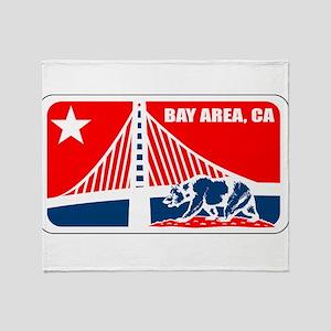 major league bay area Throw Blanket