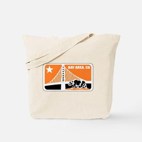 major league bay area orange Tote Bag