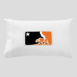 major league bay area orange plain Pillow Case