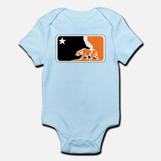 major league bay area orange plain Body Suit