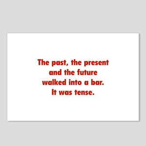 It was tense. Postcards (Package of 8)