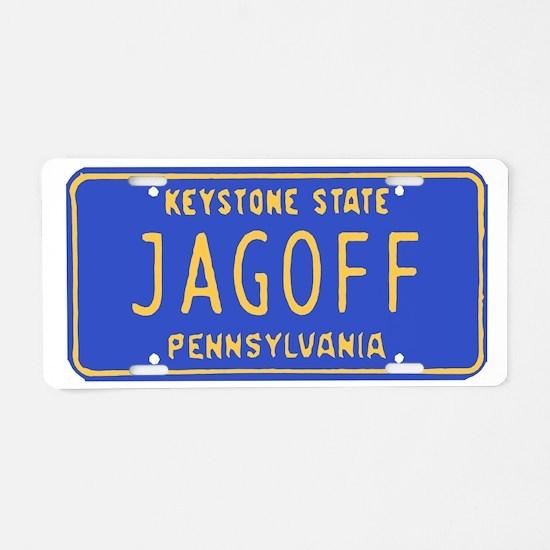 Cute Pittsburgh yinz Aluminum License Plate