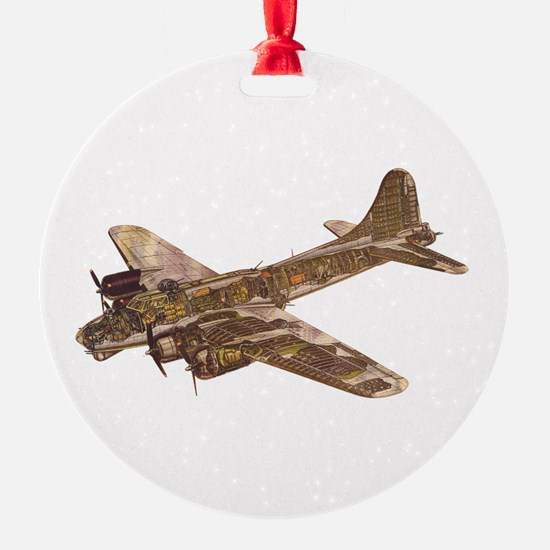 Vintage B-17 Ornament