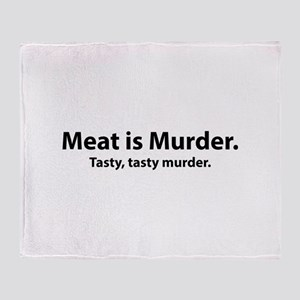 Meat is Murder Stadium Blanket