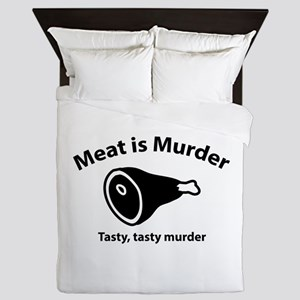 Meat is Murder Queen Duvet