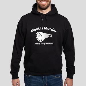 Meat is Murder Hoodie (dark)