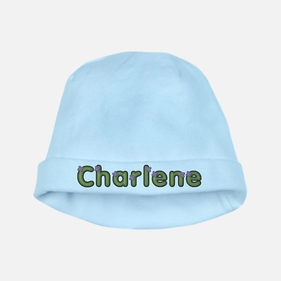 Charlene Spring Green baby hat