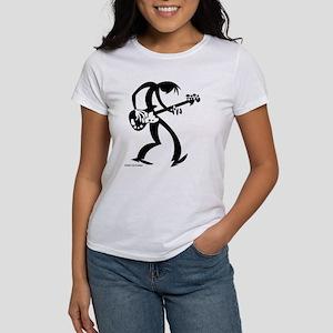 Ash Grey BassMan T/Larger Image on Back T-Shirt