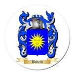 Bellelli Round Car Magnet