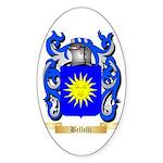 Bellelli Sticker (Oval 50 pk)