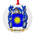 Belleken Round Ornament