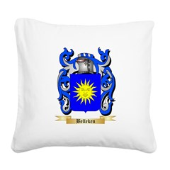 Belleken Square Canvas Pillow