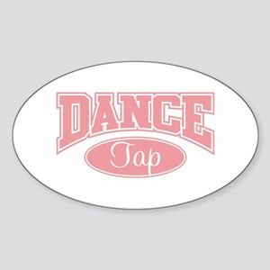 Tap Oval Sticker