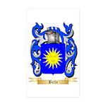 Belle Sticker (Rectangle 50 pk)