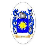 Belle Sticker (Oval)