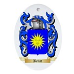 Bellat Ornament (Oval)