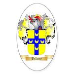 Bellamy Sticker (Oval 50 pk)