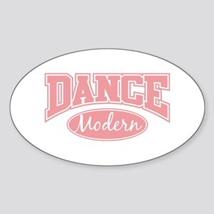 Modern Oval Sticker