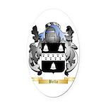 Bella Oval Car Magnet