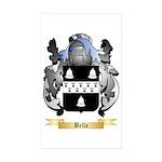 Bella Sticker (Rectangle 50 pk)