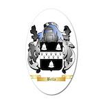 Bella 35x21 Oval Wall Decal