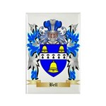 Bell Rectangle Magnet (100 pack)