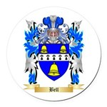 Bell Round Car Magnet