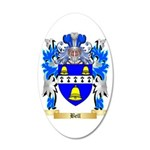 Bell 35x21 Oval Wall Decal