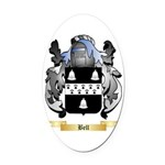 Bell (English) Oval Car Magnet
