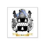 Bell (English) Square Sticker 3