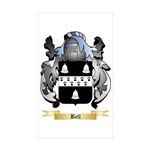 Bell (English) Sticker (Rectangle 50 pk)