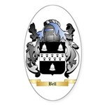 Bell (English) Sticker (Oval)