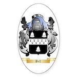 Bell (English) Sticker (Oval 50 pk)