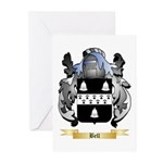 Bell (English) Greeting Cards (Pk of 10)