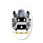 Bell (English) 20x12 Oval Wall Decal