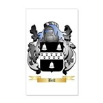 Bell (English) 35x21 Wall Decal