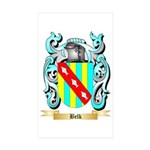 Belk Sticker (Rectangle 50 pk)