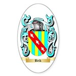 Belk Sticker (Oval 50 pk)